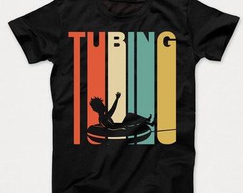 Retro 1970's Style Tubing Water Tube Kids T-Shirt