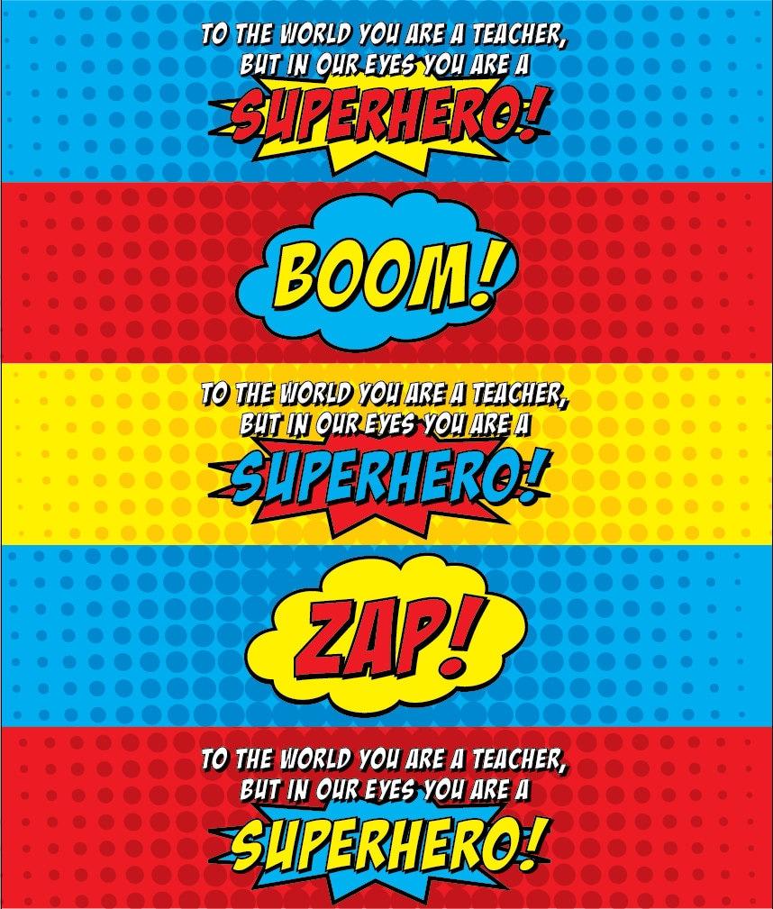 superhero water bottle labels kleo beachfix co