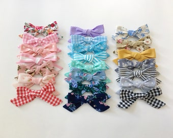 Schoolgirl bow prints