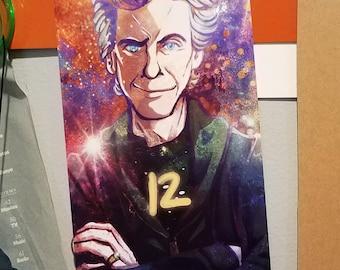 12 - Doctor Who Print