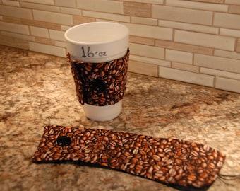 Coffee Sleeve, Coffee Cozy, Java Jacket, Joe Jacket