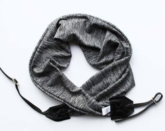 Scarf Camera Straps Super Comfortable Soft Stretch Knit Scarf Style | Great Gift Idea For Photographers 2018 | USA Handmade Designer Fabric