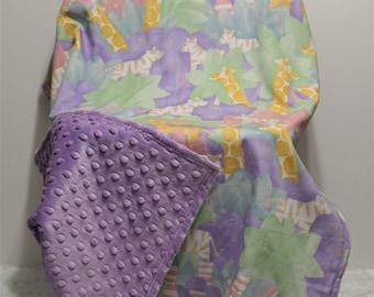 Girl Baby Blanket purple nursery girl blanket girl baby bedding purple blanket toddler girl bedding