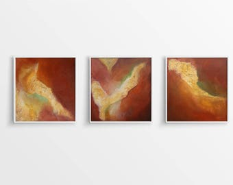 Abstract painting, mural, painting, art, 3-series