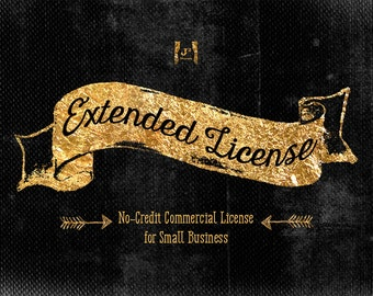 Extended No-Credit Commercial License - Small Business