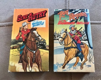 Vintage  1949 Roy Rogers and Gene Autry  - Better Little Books