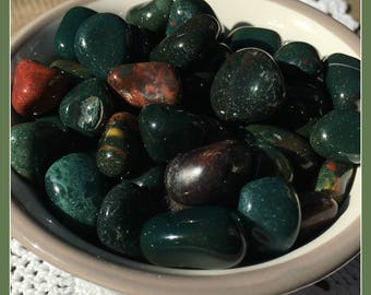 BLOODSTONE - Courage, Power, Calming Aggression