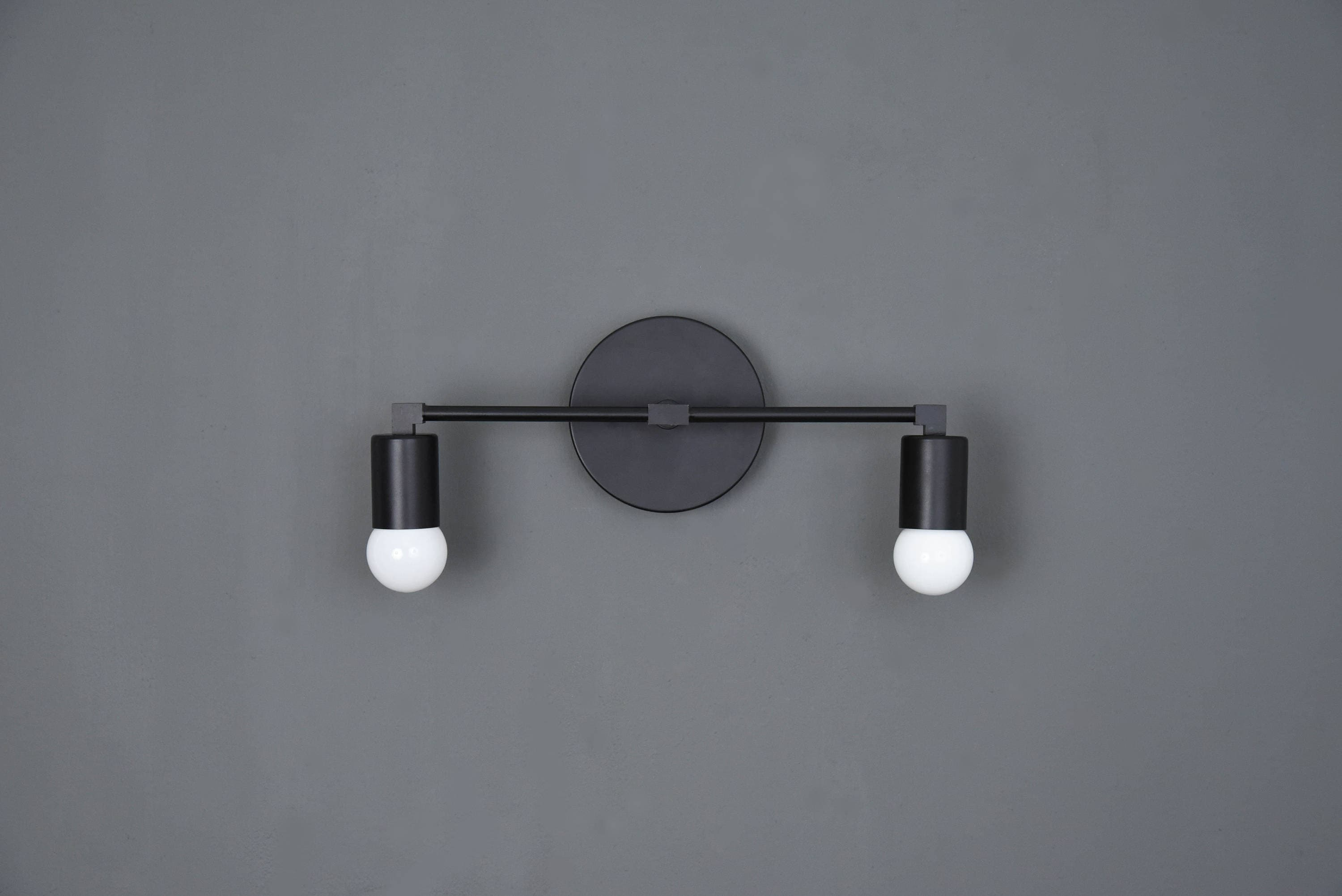 Arvada Wall Sconce [Matte Black - Mid Century - Modern - Industrial ...