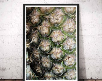 Fruit Print Art, Pineapple Photo, Pineapple Art, Tropical Print, Tropical, Fruit Print, Pineapple Wall Art, Fruit Art, Printable wall print