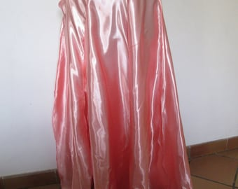 01 pink or purple satin for belly dance skirt.