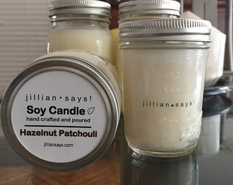 Limited Stock Mason and Jelly Jar Soy Candles
