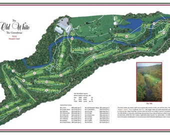 """Greenbrier """"The Old White Course"""""""