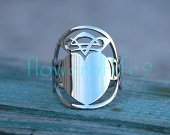 Claddagh ring - Stainless Steel