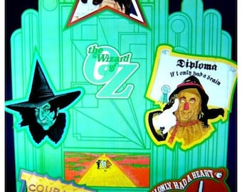 Vintage 1960s Flat/NoRoll~WIZARD OF OZ~ Icon Movie Poster