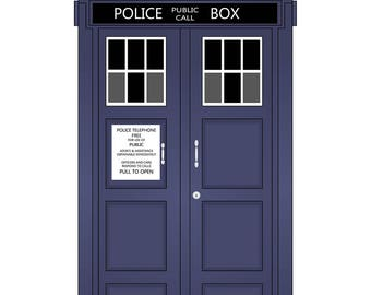 Doctor Who Tardis Vector Art