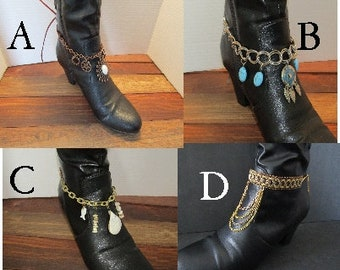 Boot wraps-cuffs-Anklets