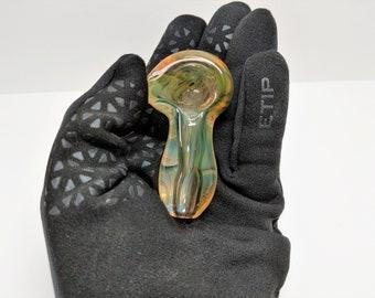 Handmade Color Changing Glass Tobacco Pipe, Glass Pipe, Smoking Bowl, Handblown Pipe, Handmade Pipe, Handmade Glass Pipe, Fume Pipe, Thick