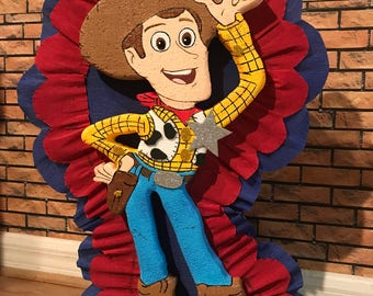 Toy Story Woody pinata birthday.  Party Decorations and Supplies