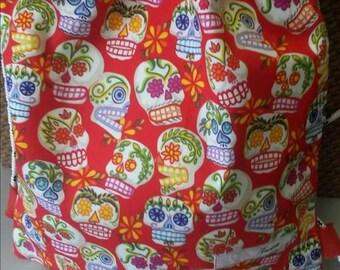Red Skull Bag