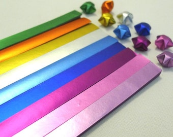 Cool Shine Origami Lucky Star Paper Strips - 90 strips pack