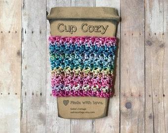Coffee Sleeve, Cup Cozy, Cup Holder, Coffee Cup Cozy, Cup Sleeve, Coffee Cozy, Coffee Cup Sleeve, Reusable Coffee Sleeve, Crochet Cup Cozy