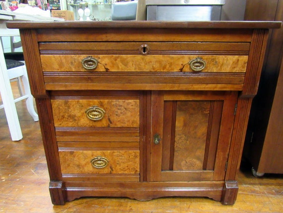 Antique washstand or commode