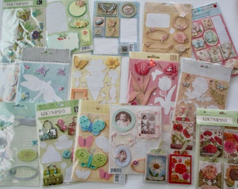 large lot of stickers - K & Company, Grand Adhesions, Studio K, Amy Butler, acid and lignin free