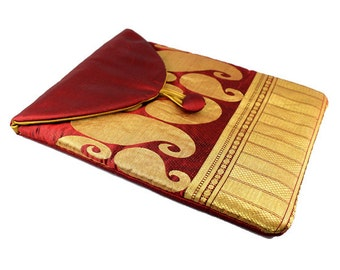 Burgundy iPad Case