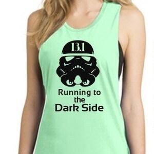 Running to Dark Side Marathon Tank