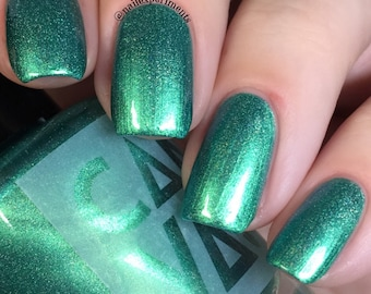 BELLA DONNA by CANVAS lacquer - multichrome emerald
