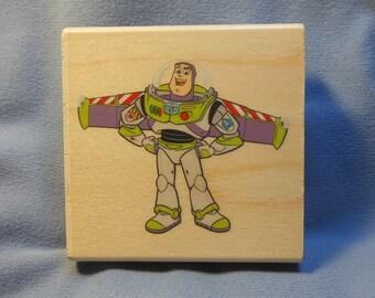 EKSuccess woodbase Buzz Lightyear rubber stamp,Toy Story,  55-23024 . 0