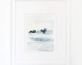 Frost- Watercolor Art Print