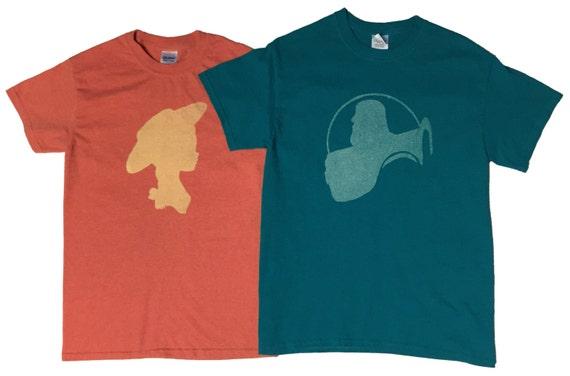 Carl and Ellie Disney Shirts / Couple T-shirts / Matching shirts / vacation shirts / kid shirts / adult shirts / Bleached T-shirts oEPGXeC0B