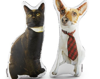 Custom Pet Photo Pillow - 3D Animal Cushion - Pet Home Decor - Animal Pillow - Printed Dog Pillow - Printed Cat Pillow - Pet Picture Cushion