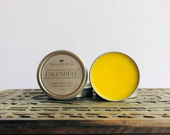 Calendule, organic balm, healing balm