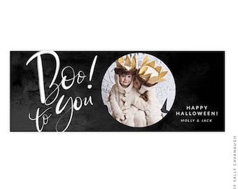 Halloween Facebook timeline cover - Photoshop template -  E1547