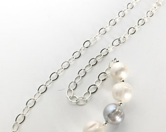 Pearl Sterling Necklace