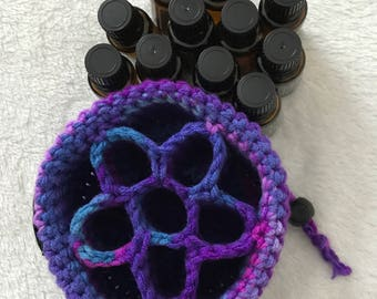 EO11 Holder in Gemstone Essential Oil Case Essential Oil Bag