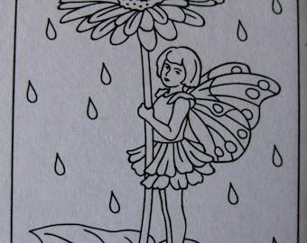Fairy Embossing Folder