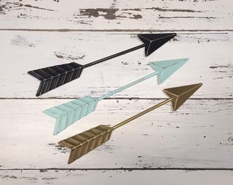 Arrow Wall Decor/Aqua/Arrow/Metal Arrow/Bohemian Decor/Arrow/SSLID0262/Arrows/Tribal/ Indian/ Southwest/Arrow Art/Trendy/Boho
