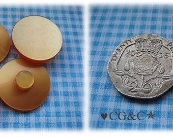 Orange 1960's Buttons