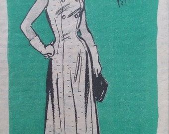 Vintage Mail Order Pattern 4780 Size 20-1/2 Sundress and Bolero