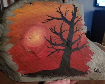 Sunset + Tree
