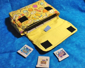 Breakfast 3DS / 3DS XL / New 3DS Carrying Case - MADE to ORDER