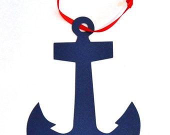 Navy Anchor ornament