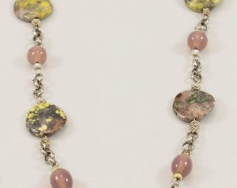 Earthy style necklace J108W