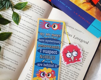 Luna Lovegood  bookmark handmade