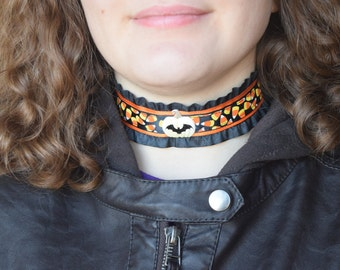 Halloween Choker Necklaces - Handmade