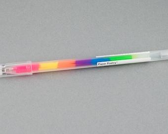 Gel Rainbow Neon 0.8 mm