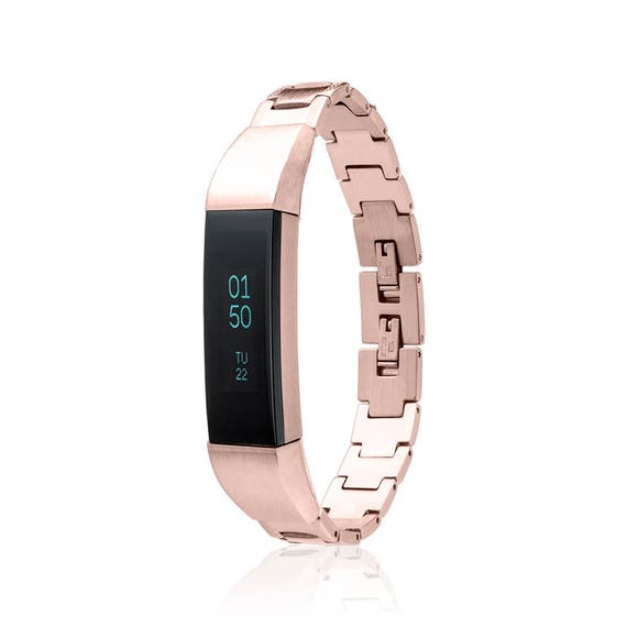 Bracelet SOSO - for Fitbit Alta - Alta HR - Jewelry - Rose Gold -  Stainless Steel